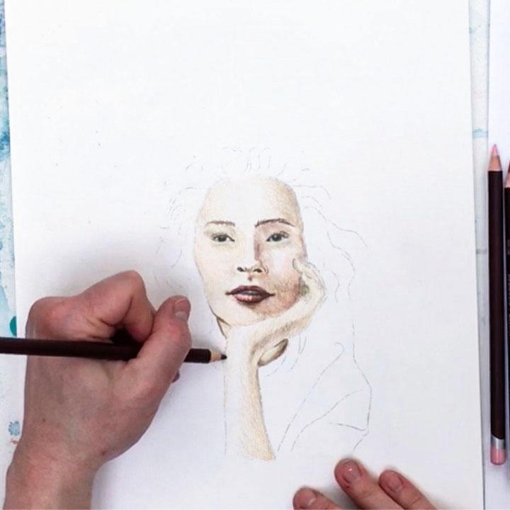 Online cursus: Portret – Expressie, compositie en kleur