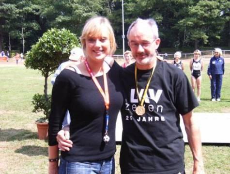 Helmut Meier mit Tochter Miriam