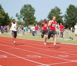 100m Sieger Stefan Schwab