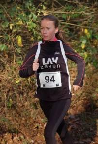 Anna Hilken siegte bei der Jugend W13 über die 1500m.