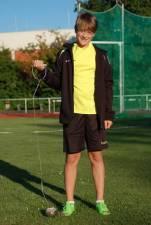 Lasse Willenbrock führt zur Zeit in zwei Disziplinen in der Landesbestenliste der M12