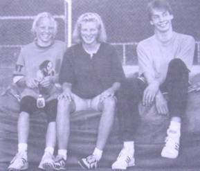 Birte , Alexandra und Ingo