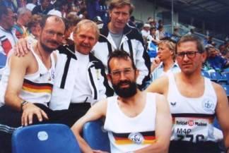 Zevener Teilnehmer an den Senioren-Europameisterschaften 1996 in Malmo/Schweden