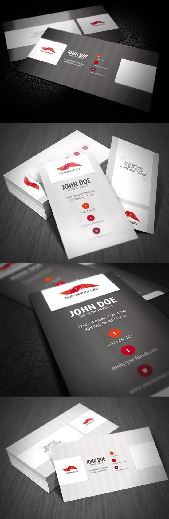 Showcase Of Innovative Business Card Designs