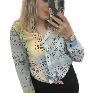 Camicia BANDANA