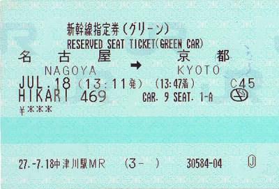 Biglietto JR