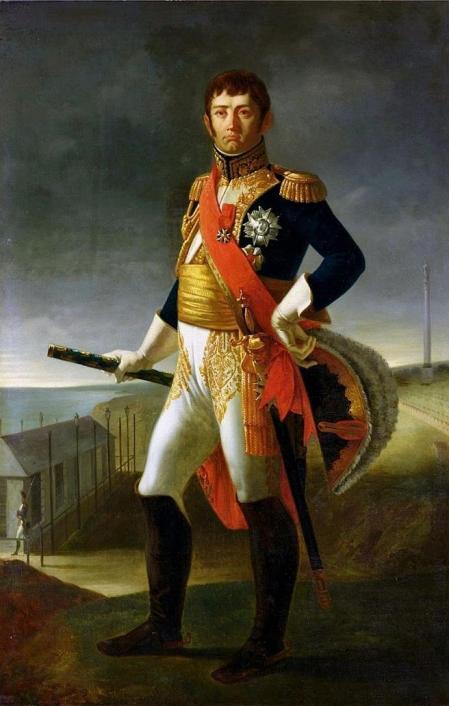 Jean de Dieu Soult, uno de los principales responsables del saqueo napoleónico en España. Obra de Louis Henri de Rudder.