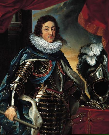 Retrato del rey Luis XIII.