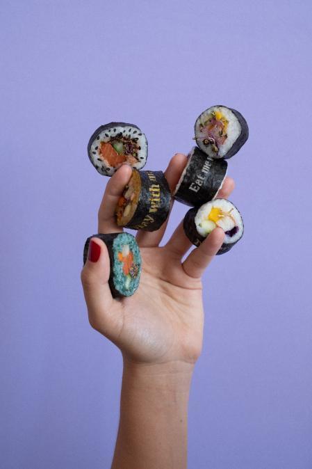 A creation of food stylist Nicole Vindel
