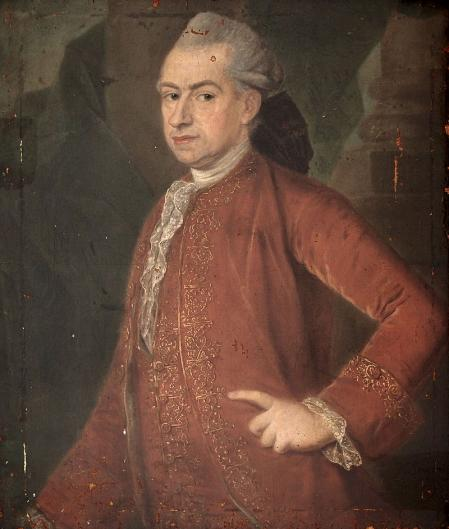 Retrato del marqués de la Ensenada.