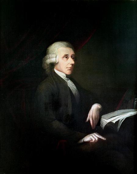 A retrato from Priestley hacia 1783.