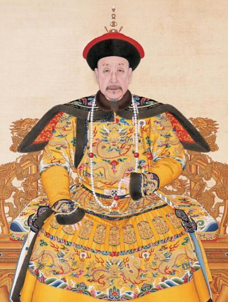 El emperador Qianlong, quinto de la dinastía Qing