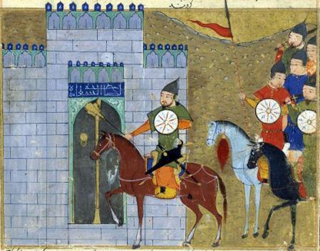El sitio mongol a la actual Beijing se produjo en el siglo XIII.