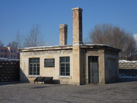 [UNVERIFIED CONTENT] Sentry Box - Unit 731 - Harbin (CN) Jan 2011 Biological and chemical warfare research and development unit of the Imperial Japanese Army that undertook lethal human experimentation during the Second Sino-Japanese War (1937 - 1945) and World War II