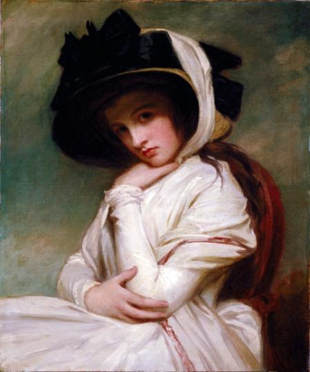 Lady Hamilton a los 17 años.