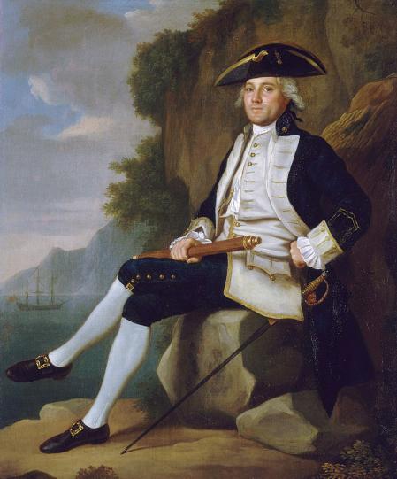 El almirante Edward Vernon.