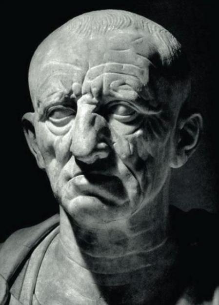 Supuesta representación de Marco Porcio Catón.