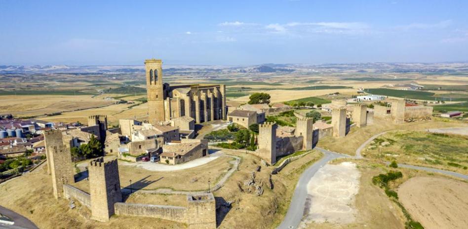 Artajona, el castillo más espectacular de Navarra