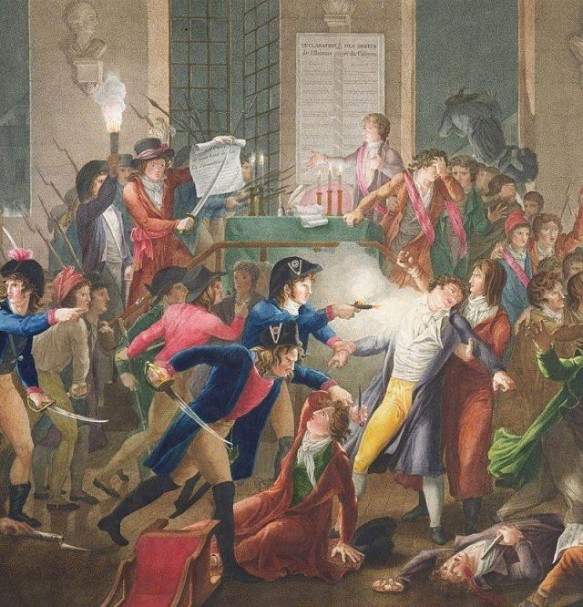 9 de Thermidor, la caída de Robespierre.