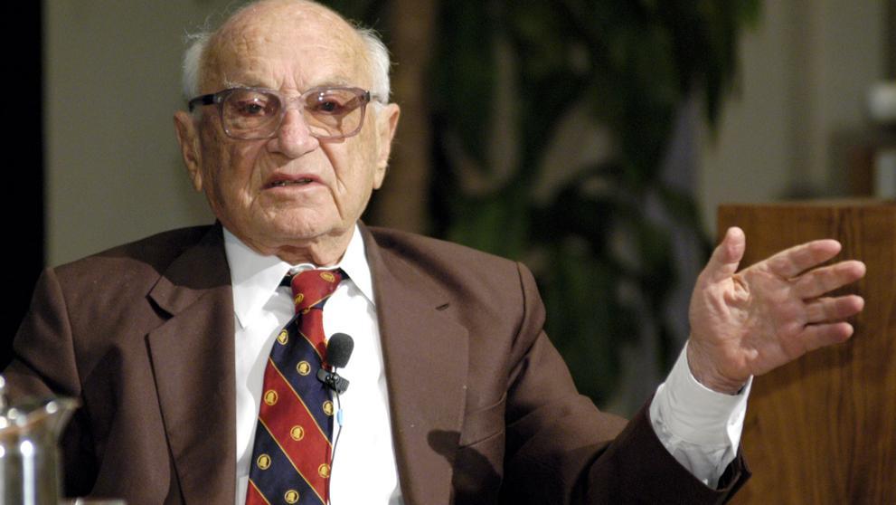 Milton Friedman, premio Nobel de Economía de 1976 (Bloomberg)