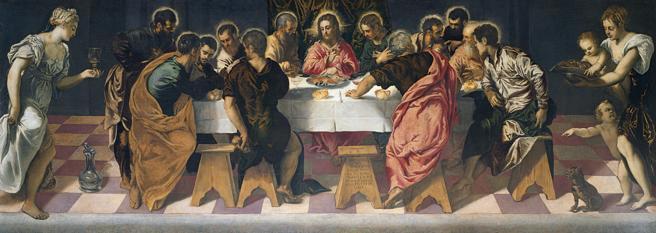Ultima cena de Tintoretto