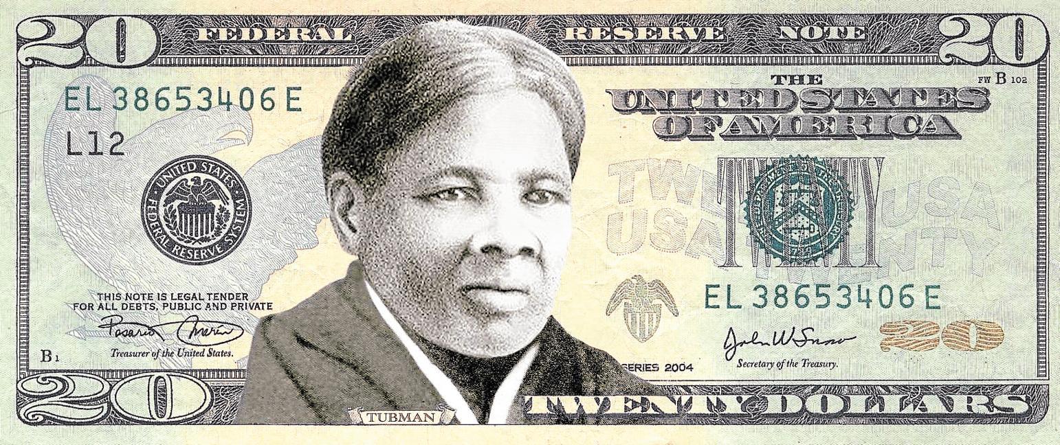 Tres protagonistes. Harriet Tubman, a la fotografia superior, il·lustrarà el bitllet de 20 dòlars pròxim i substituirà l'expresident Andrew Jackson (a baix, a l'esquerra), mentre que Alexander Hamilton es mantindrà al bitllet de 10 dòlars