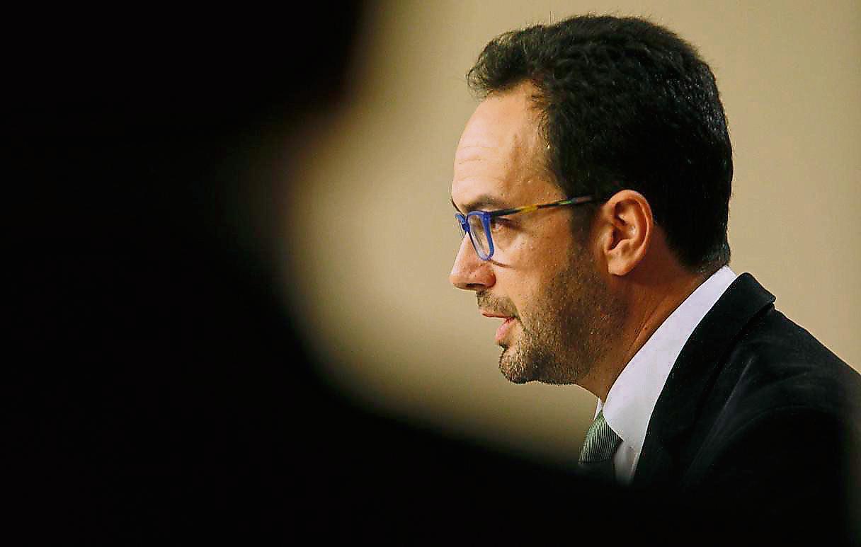 El diputado Antonio Hernando, nuevo presidente del grupo parlamentario socialista