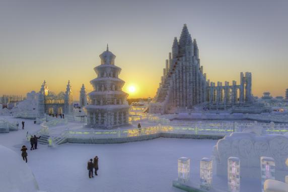 Festival de Hielo y Nieve en Harbin (China)