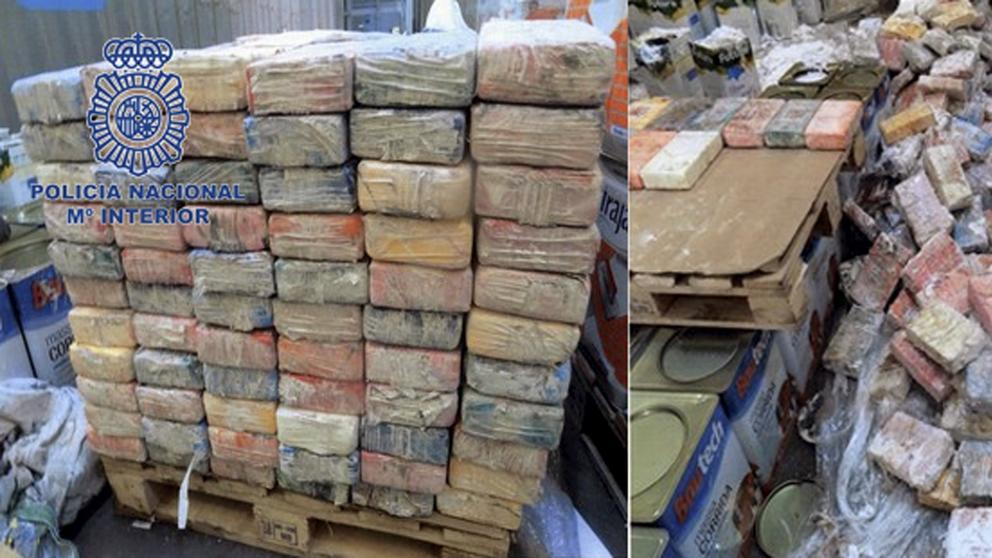 Cae una red que pretendía vender 410 kilos de cocaína en Arabia Saudí