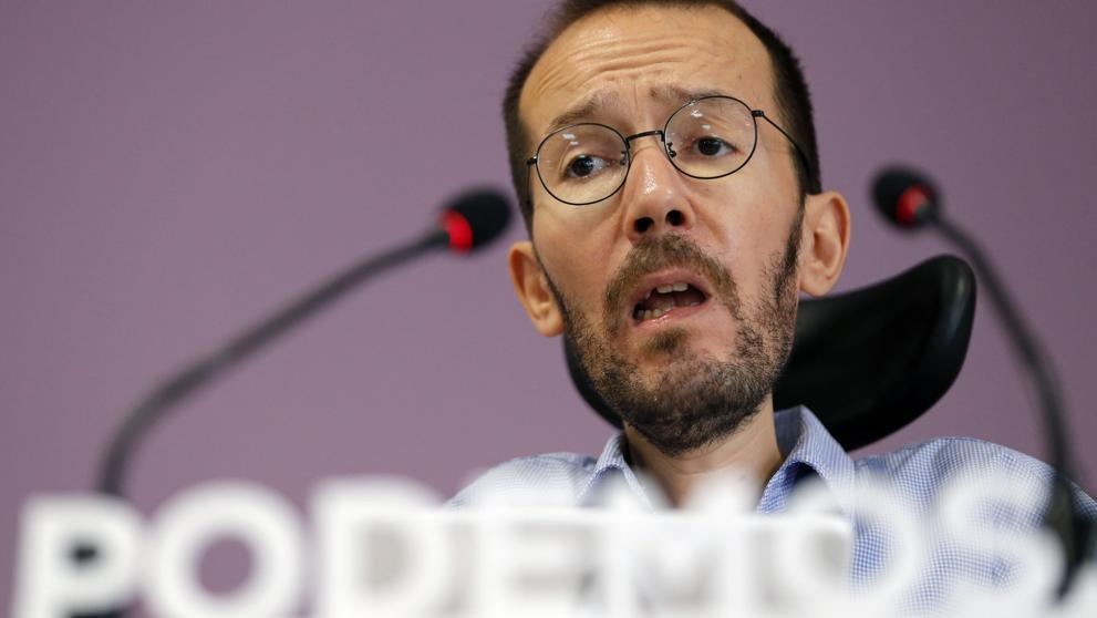 """Echenique dice que el PSOE será el """"aliado preferente"""" de Podemos tras las elecciones"""
