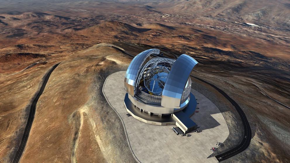 Así será el mayor telescopio del mundo