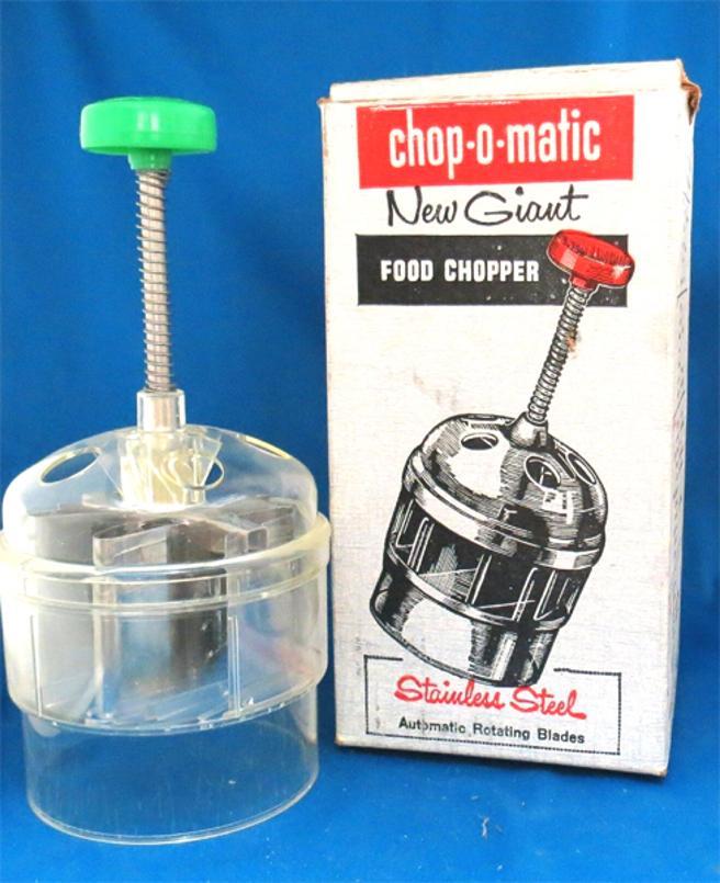 Chop-O-Matic fue el primer artículo vendido en la televisión