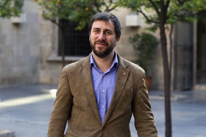El conseller Toni Comin, objeto de las críticas de la CUP