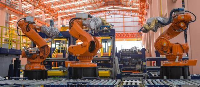 La industria es uno de los sectores más robotizados