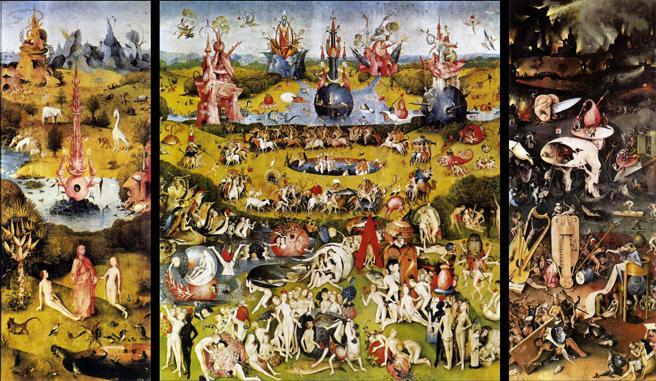 'El jardín de las delicias', obra de El Bosco