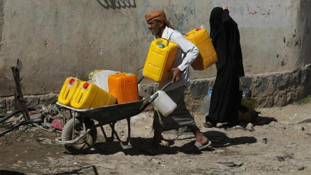 Resultado de imagen para Bloqueo Arabia Saudí Yemen