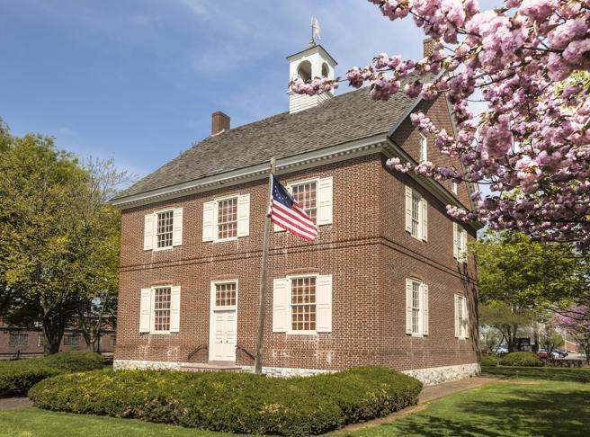 El Palacio de la Justicia (Colonial Courthouse) de York, Pensilvania