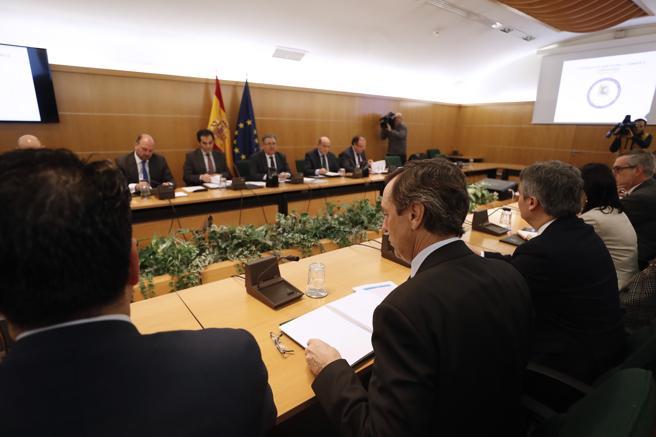 Reunión del pacto antiyihadismo