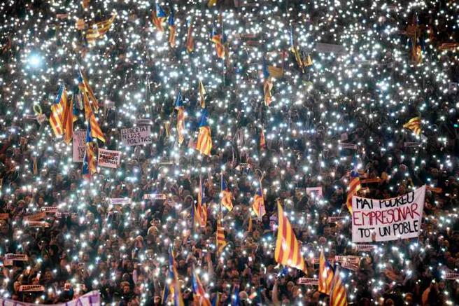 Manifestación del 11 de noviembre en Barcelona