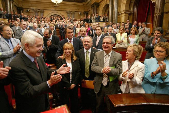 Debate sobre el Estatut en el Parlament