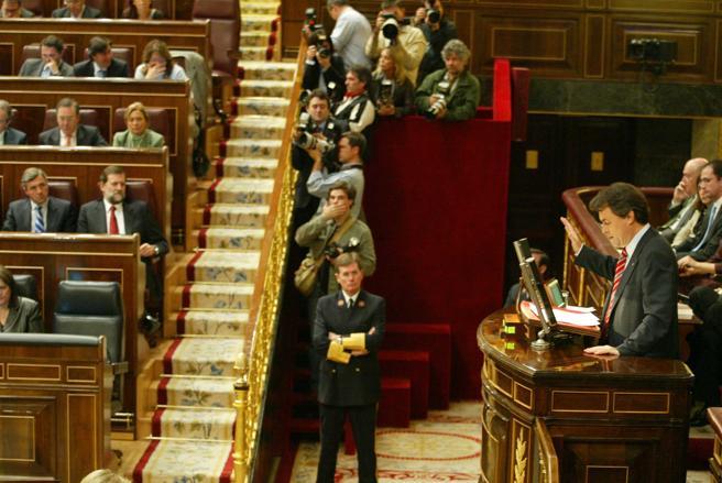Debate sobre el Estatut en el Congreso de los Diputados
