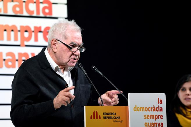 El diputado de ERC Ernest Maragall . EFE/SANTI IGLESIAS