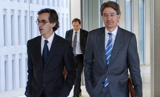 Pedro Buenaventura (a la derecha)
