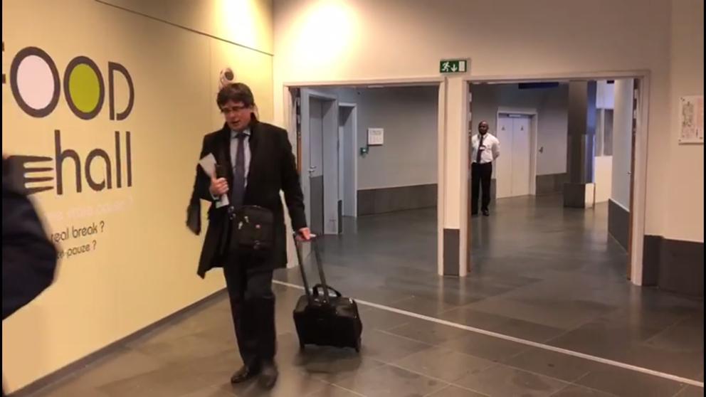 Última hora de Puigdemont y el viaje a Dinamarca, en directo