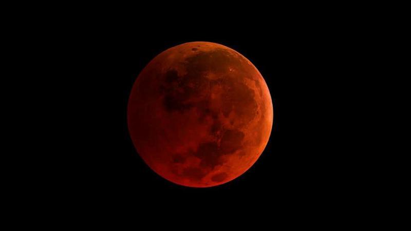 Eclipse de Superluna azul de sangre: Así será este espectacular fenómeno astronómico