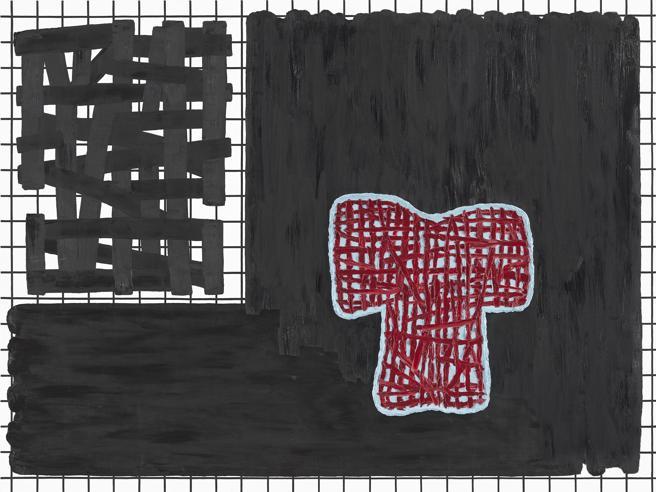 Jonathan Lasker: 'Yet untitled', 2017, Galería Maruani Mercier, Bruselas.