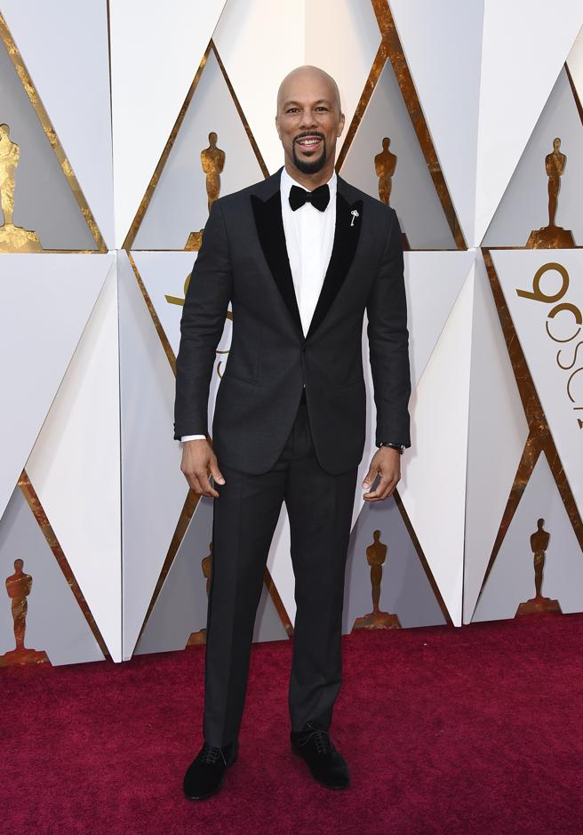 Common llega a la alfombra roja de los Oscar 2018