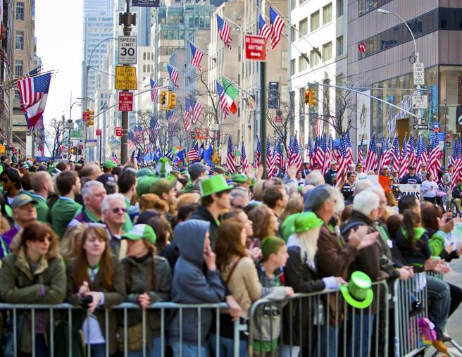 Desfile de San Patricio en Nueva York, EE.UU.