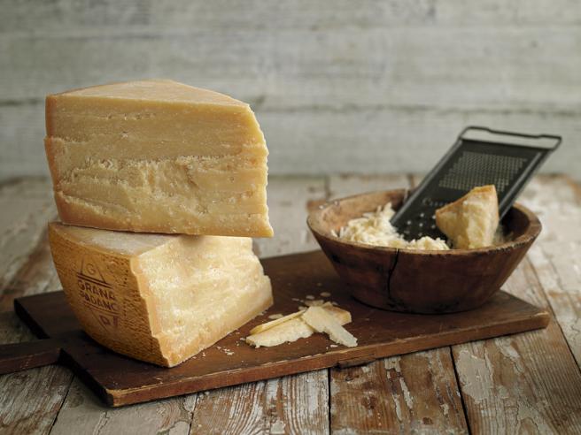 El queso ya en la mesa