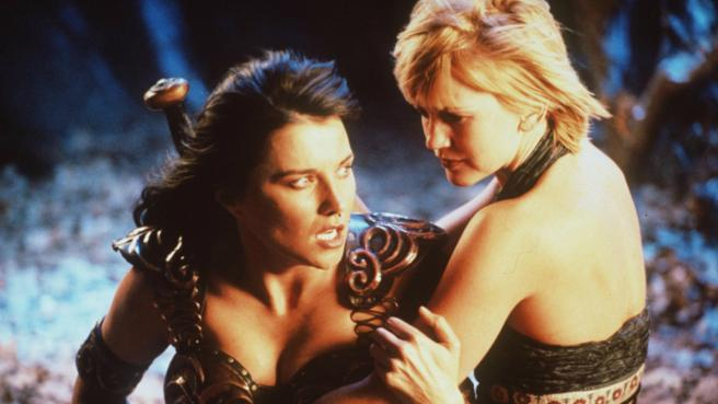 Nunca se atrevieron a mostrar a Xena y Gabrielle como pareja lesbiana.